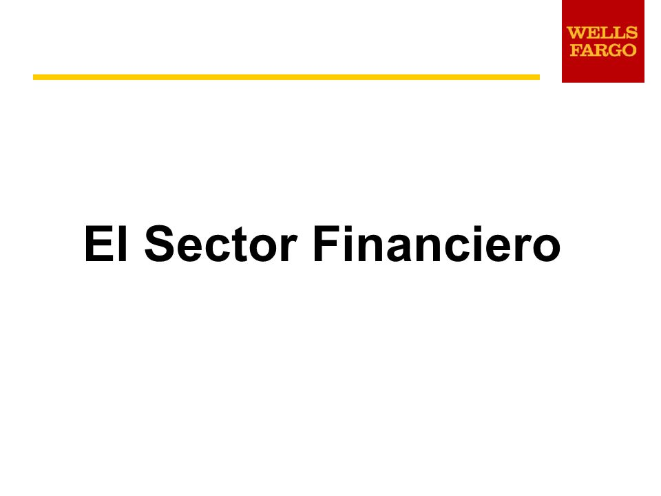 El Sector Financiero