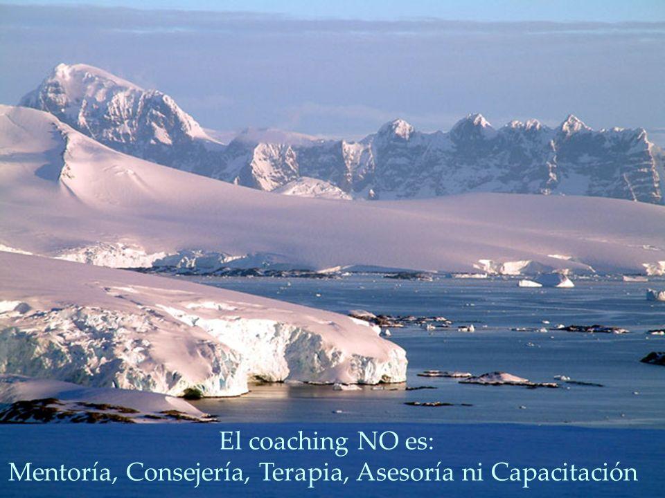 El coaching NO es: Mentoría, Consejería, Terapia, Asesoría ni Capacitación