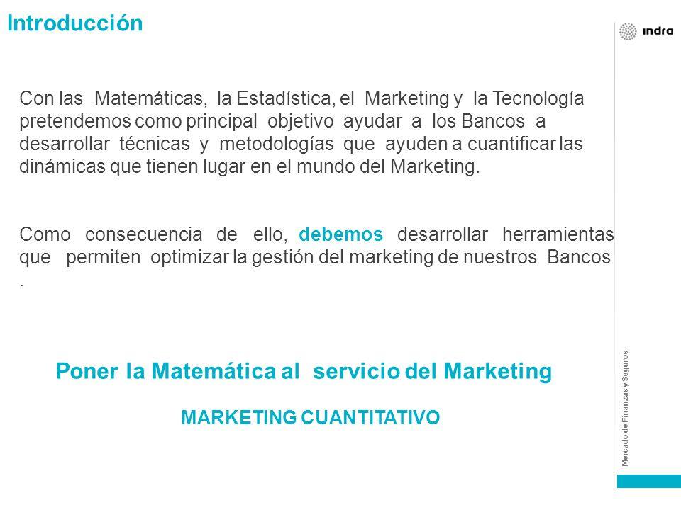 Mercado de Finanzas y Seguros INDICE Las matemáticas y el marketing : Los modelos econométricos
