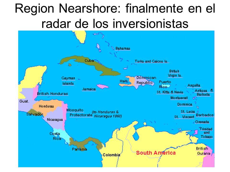 Region Nearshore: finalmente en el radar de los inversionistas Colombia