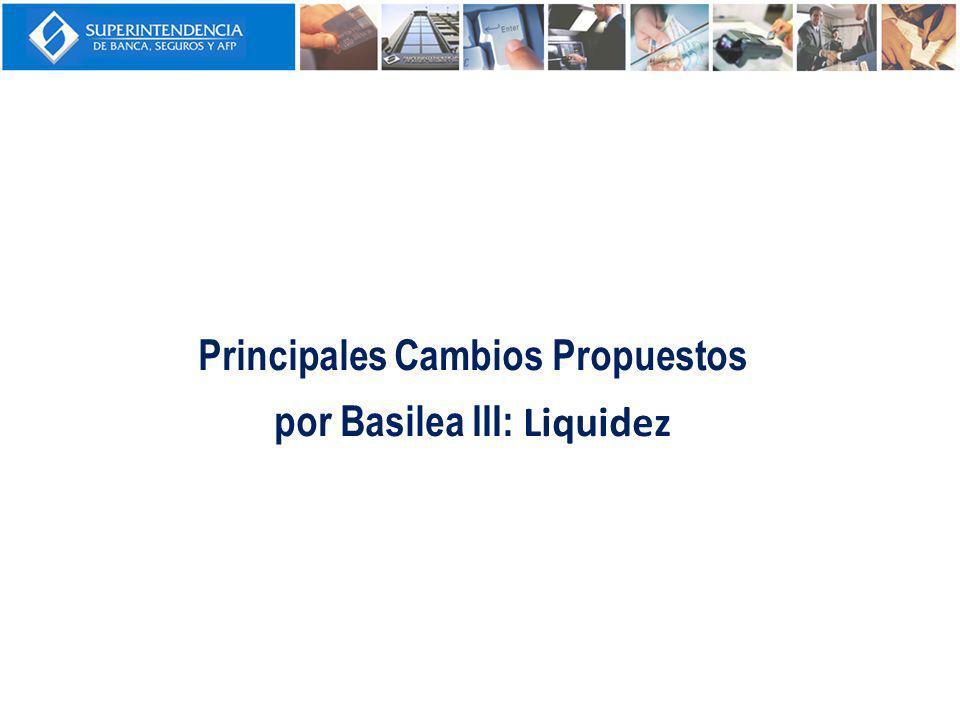 Coeficiente de cobertura de liquidez (LCR): Tiene el objetivo de promover la solidez de los bancos frente al riesgo de liquidez en el corto plazo.