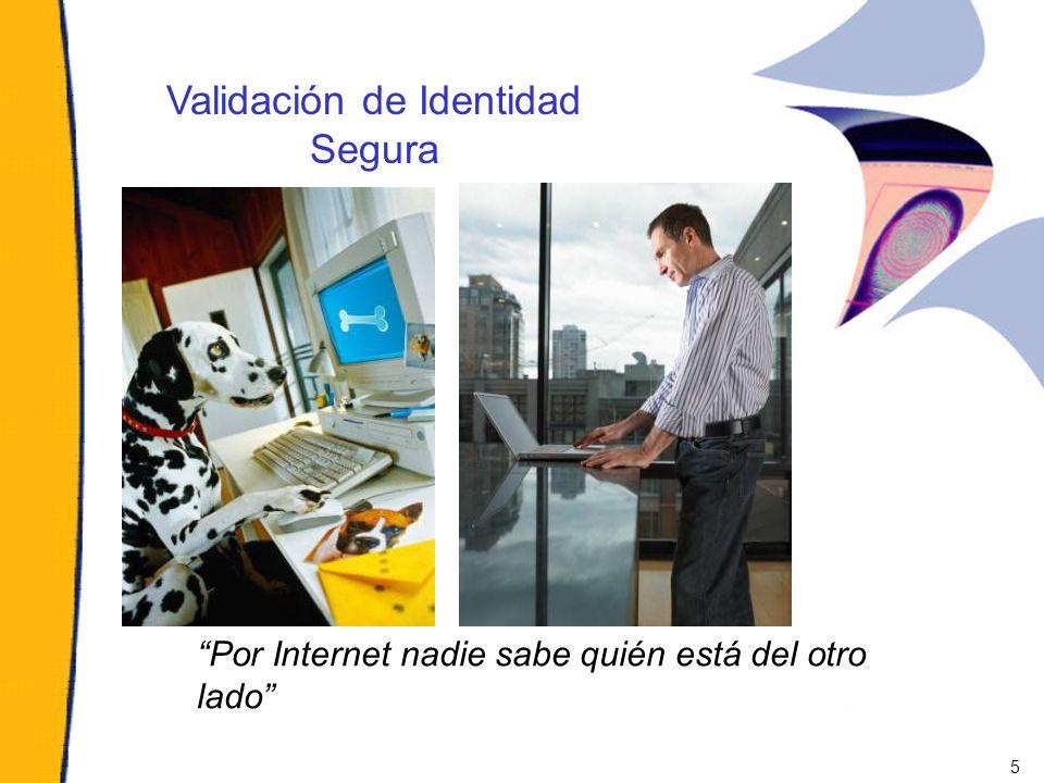 Por Internet nadie sabe quién está del otro lado Validación de Identidad Segura 5