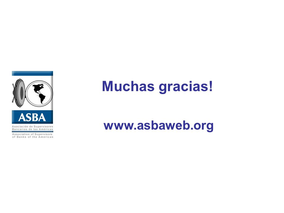 www.asbaweb.org Muchas gracias!