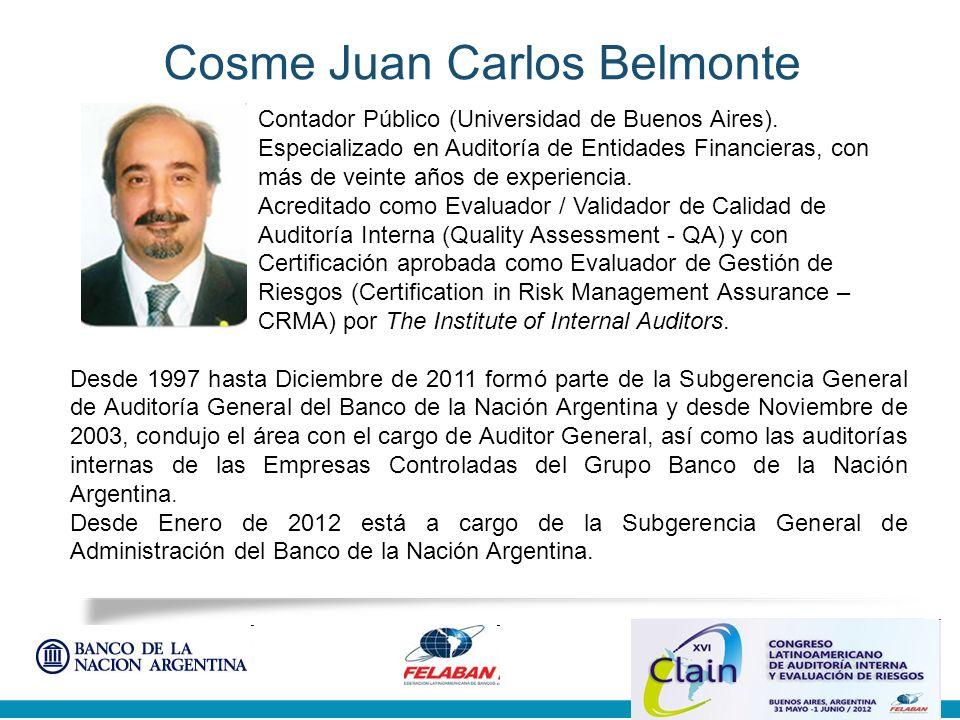 Subgerencia General Auditoría General Objetivo primario de la Evaluación de Calidad (Certificación) Elevar y mantener un alto nivel de desempeño en la actividad de Auditoría Interna en la realización de las auditorías y revisiones de control.