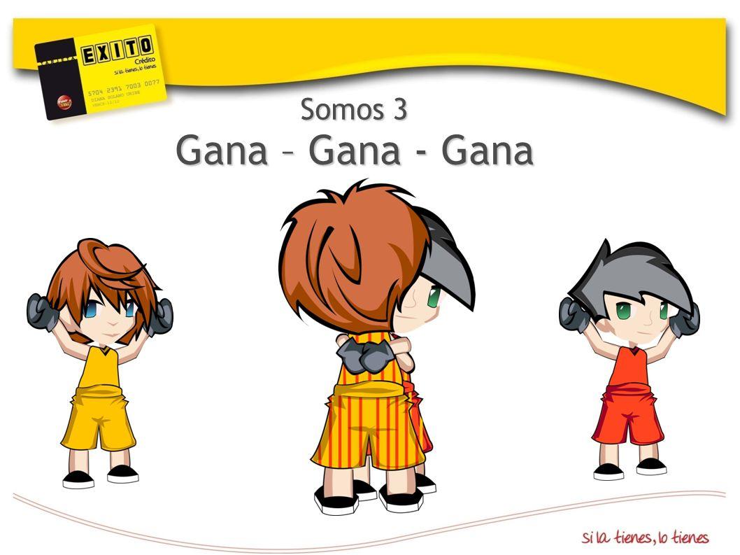 Somos 3 Gana – Gana - Gana