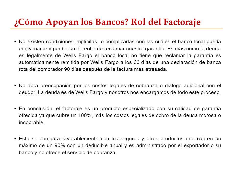 Caso de Éxito #4 En el año 2010 una empresa ecuatoriana de atún enlatado se acerca a su banco para pedir un aumento a su línea de crédito para venderle a una compañía en los EEUU, conocida como Starkist.