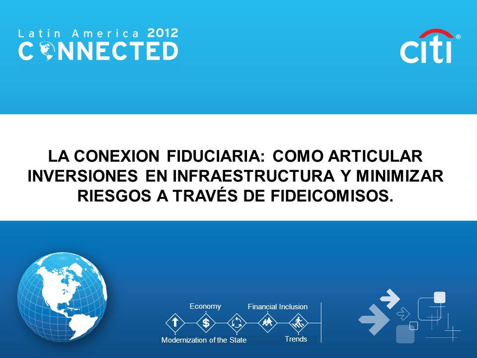 Colafi 2012 LA CONEXION FIDUCIARIA: COMO ARTICULAR INVERSIONES EN INFRAESTRUCTURA Y MINIMIZAR RIESGOS A TRAVÉS DE FIDEICOMISOS. Economy Modernization