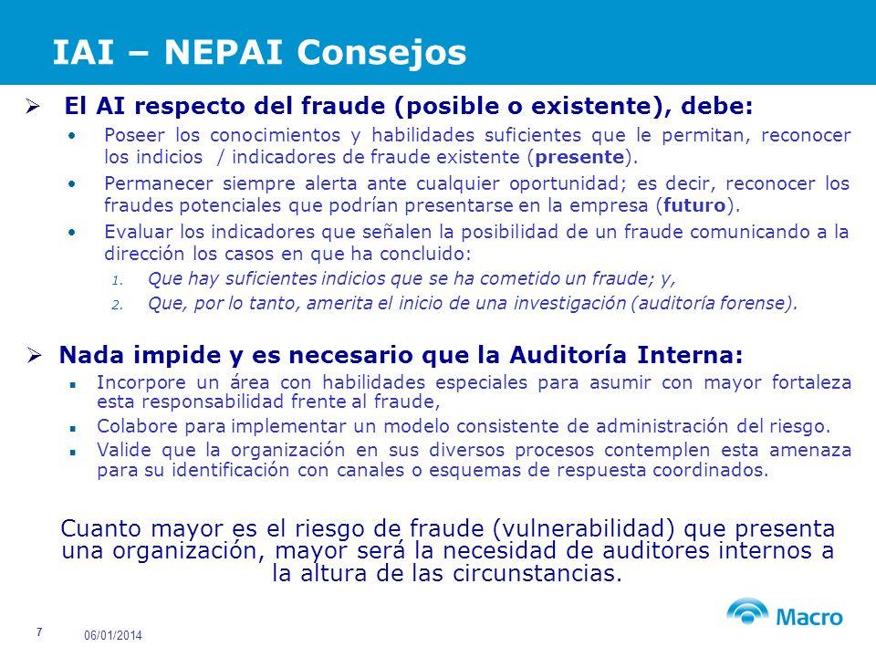 06/01/2014 28 Principales Logros Construir pilares básicos de Prevención y Control del Fraude.