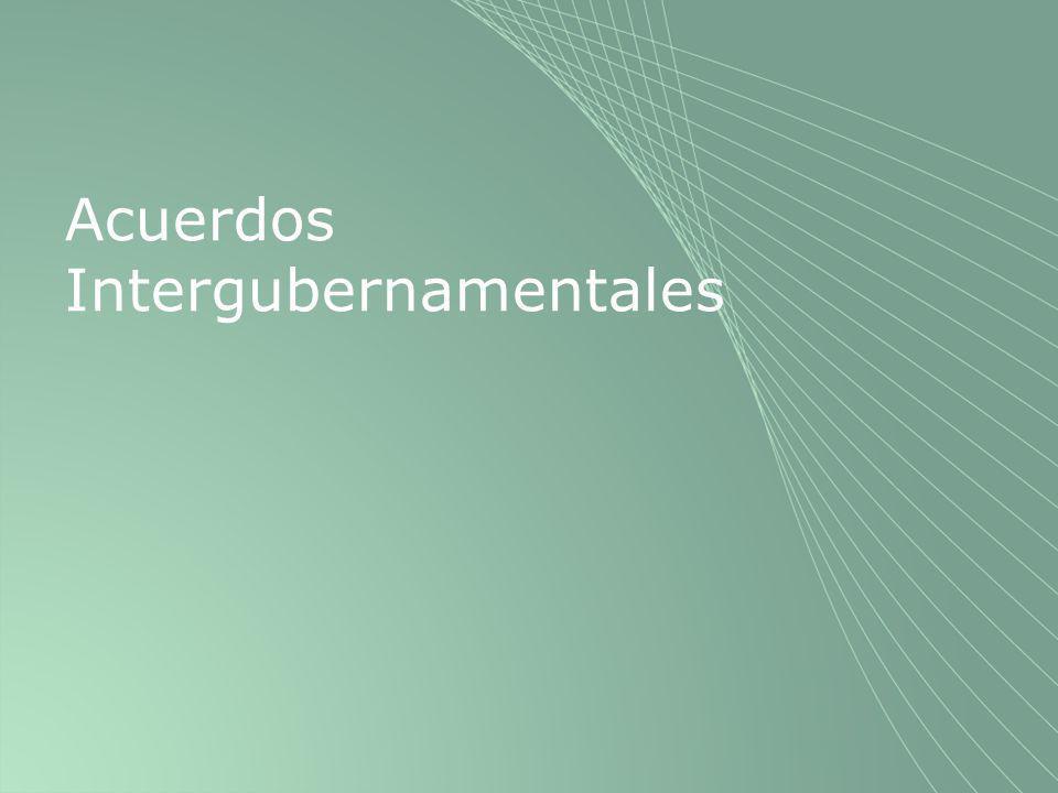 Acuerdos Intergubernamentales