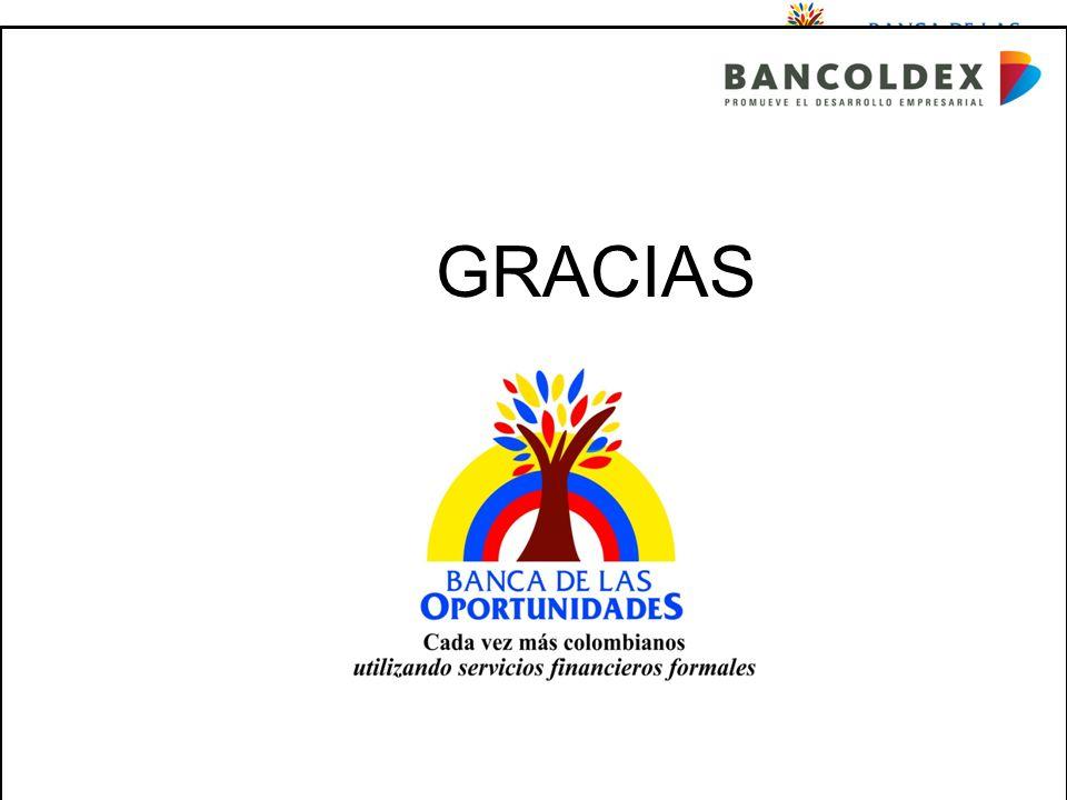 Una política para promover el acceso a servicios financieros buscando equidad social Cada vez más colombianos utilizando servicios financieros formales GRA GRACIAS