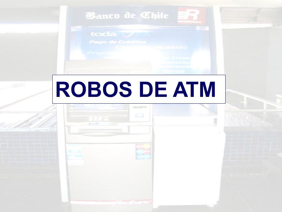 ROBOS DE ATM