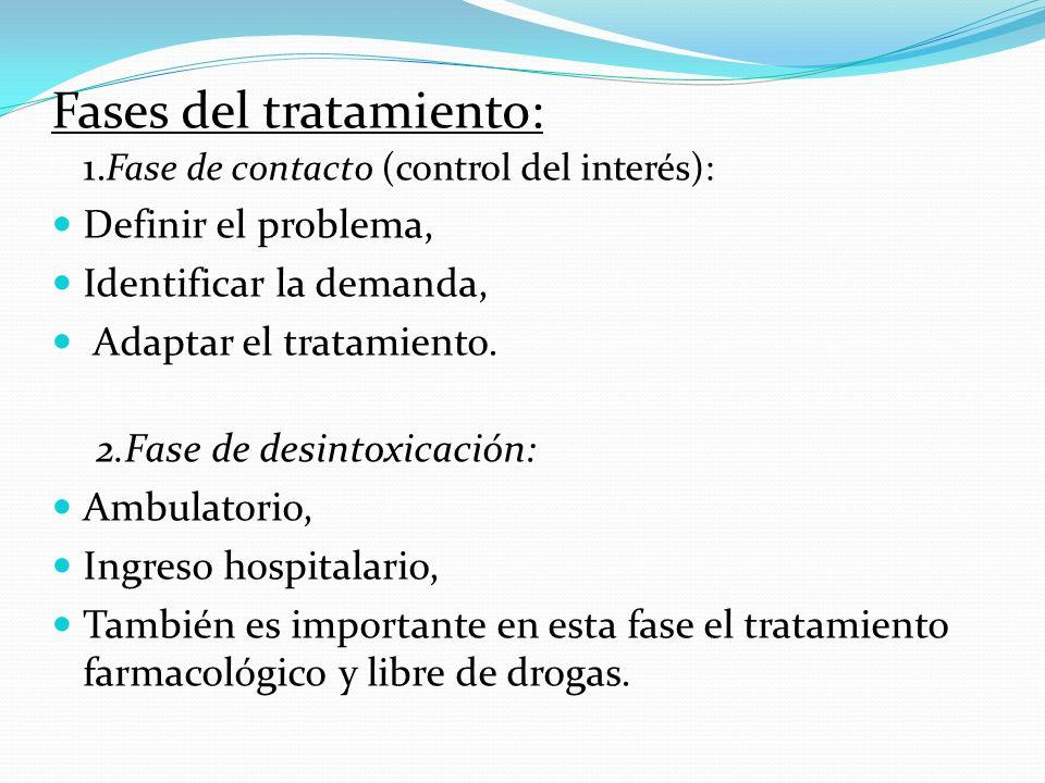 Prevención: Prevención primaria (eliminar las causas). Prevención secundaria (inmunidad frente a la oferta). Prevención terciaria (tratamiento). Recur