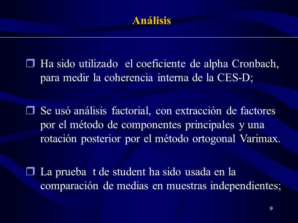 20 Referencias Bibliográficas - Crum R.M.; Anthony J.