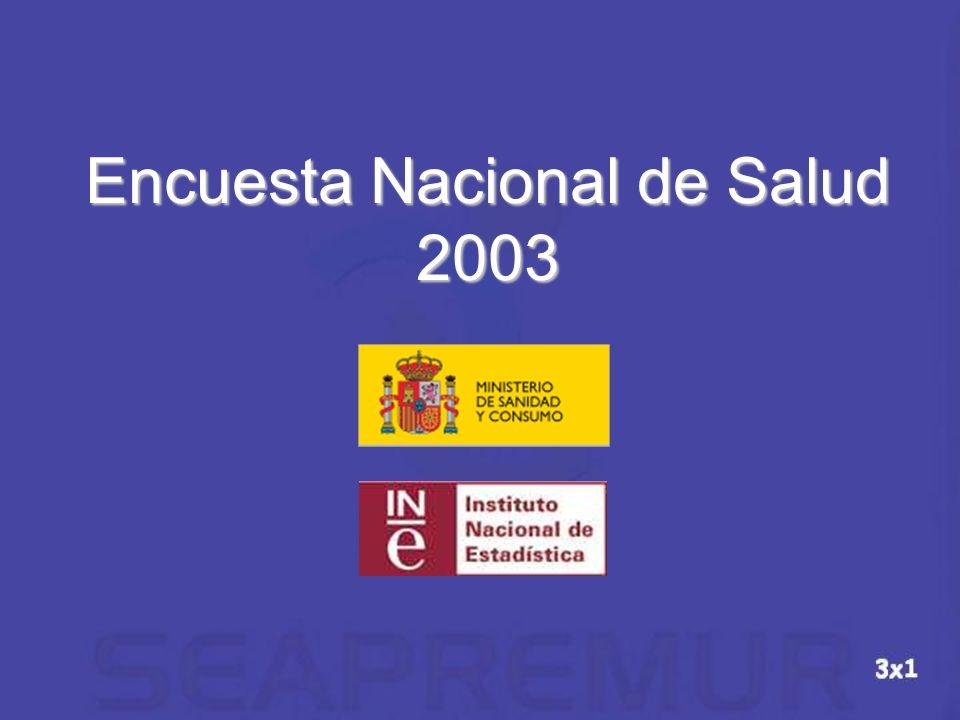 Encuesta Nacional de Salud 2003