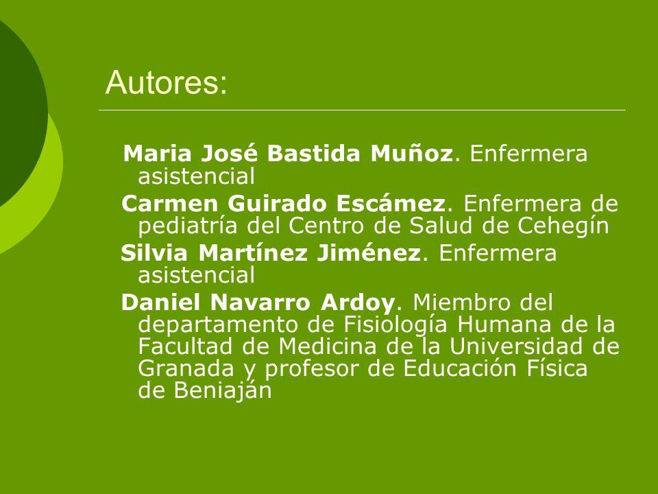 OBJETIVO GENERAL Conocer las características antropométricas (peso, talla e IMC) de la población escolar (6-14 años) de la localidad de Cehegín (Murcia).