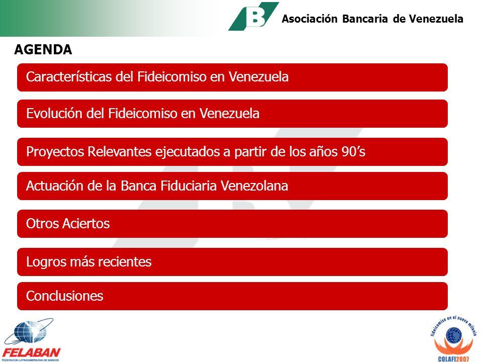 Asociación Bancaria de Venezuela XVII CONGRESO LATINOAMERICANO DE FIDEICOMISO GUATEMALA, Octubre 2007 ACIERTOS y DESACIERTOS DEL NEGOCIO FIDUCIARIO EN VENEZUELA Conferencista: Ludmila Kleberg