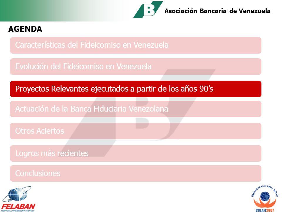 Asociación Bancaria de Venezuela POR LA CONFIANZA, TRANSPARENCIA Y SEGURIDAD OFRECIDAS POR BANCOS FIDUCIARIOS Se han abocado a vender negocios fiduciarios.