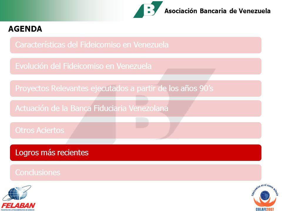 Asociación Bancaria de Venezuela Algunas Actividades del Comité de Fideicomiso de la ABV Creación de los Subcomités de Trabajo Participación en el Cambio del Catálogo de Cuentas (SUDEBAN).