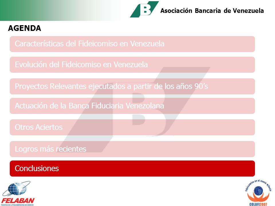 Asociación Bancaria de Venezuela Inicio: Octubre 2007 Brindar a los participantes los conocimientos actualizados del negocio fiduciario.