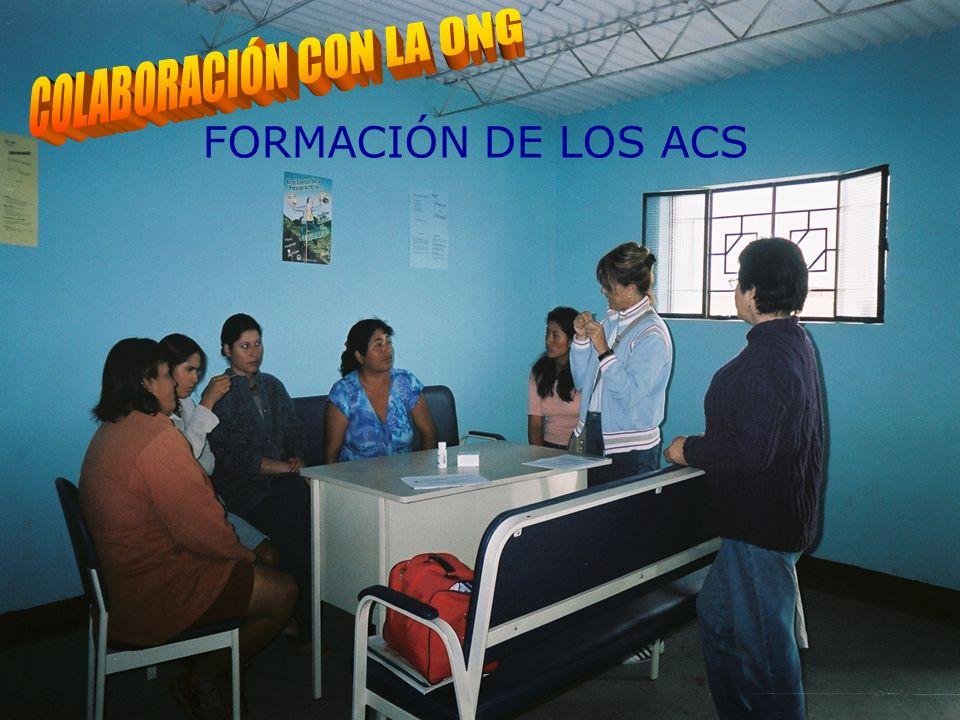 PARTICIPACIÓN EN LA FORMACIÓN DE LOS ACS FORMACIÓN DE LOS ACS