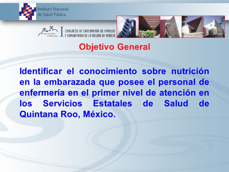Identificar el conocimiento sobre nutrición en la embarazada que posee el personal de enfermería en el primer nivel de atención en los Servicios Estat