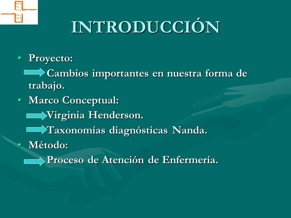 IMPRESCINDIBLE: Formación específica en metodología enfermera.Formación específica en metodología enfermera.