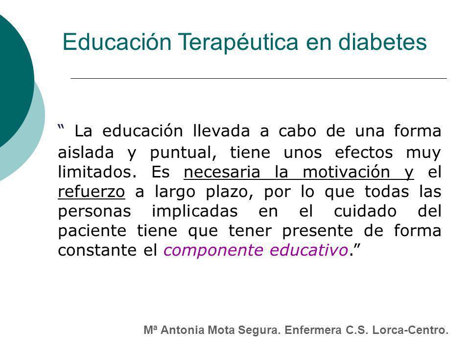 La educación llevada a cabo de una forma aislada y puntual, tiene unos efectos muy limitados.