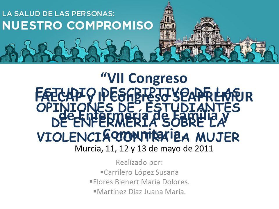 VII Congreso FAECAP y II Congreso SEAPREMUR de Enfermería de Familia y Comunitaria.