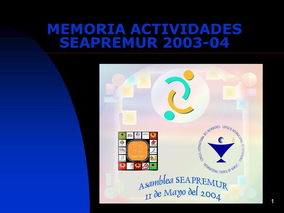 1 MEMORIA ACTIVIDADES SEAPREMUR 2003-04