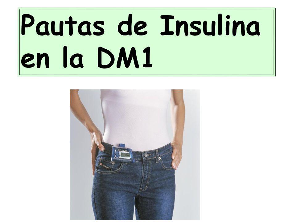 Pautas de Insulina en la DM1