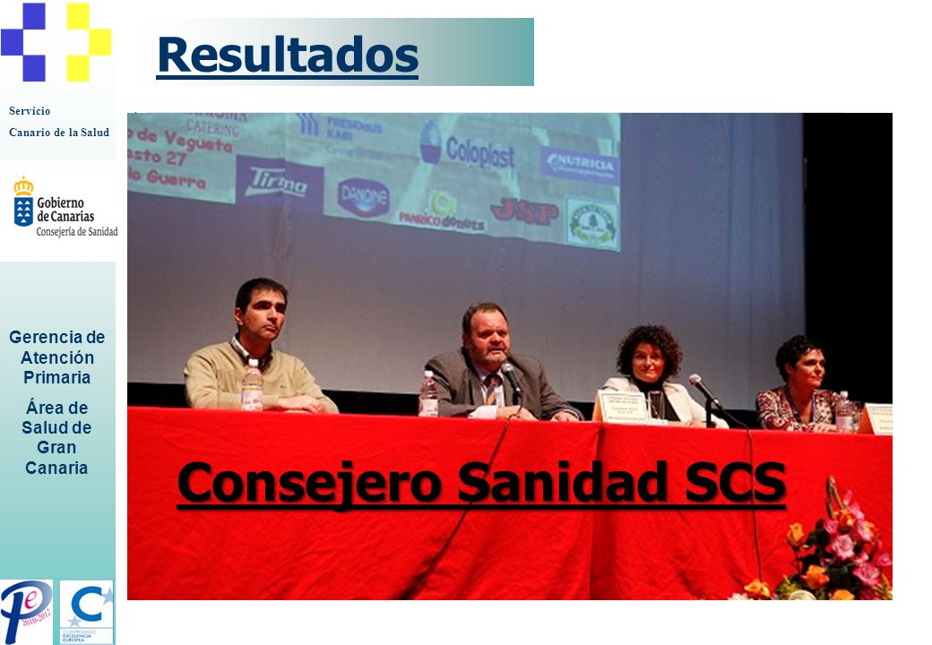 Servicio Canario de la Salud Gerencia de Atención Primaria Área de Salud de Gran Canaria Discusión Toma de conciencia sobre la importancia de La cuidadora Necesario continuar realizando este tipo de encuentros.