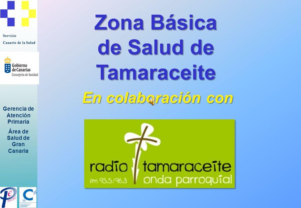 Servicio Canario de la Salud Gerencia de Atención Primaria Área de Salud de Gran Canaria …presentan…
