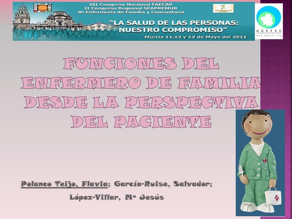 Polanco Teijo, Flavia; García-Ruise, Salvador; López-Villar, Mª Jesús