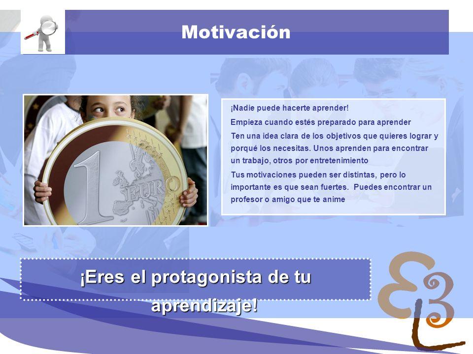 learning to learn network for low skilled senior learners Motivación ¡Nadie puede hacerte aprender! Empieza cuando estés preparado para aprender Ten u