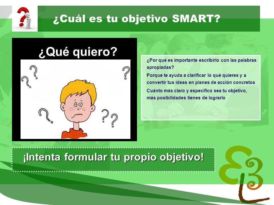 learning to learn network for low skilled senior learners ¿Cuál es tu objetivo SMART? ¿Por qué es importante escribirlo con las palabras apropiadas? P