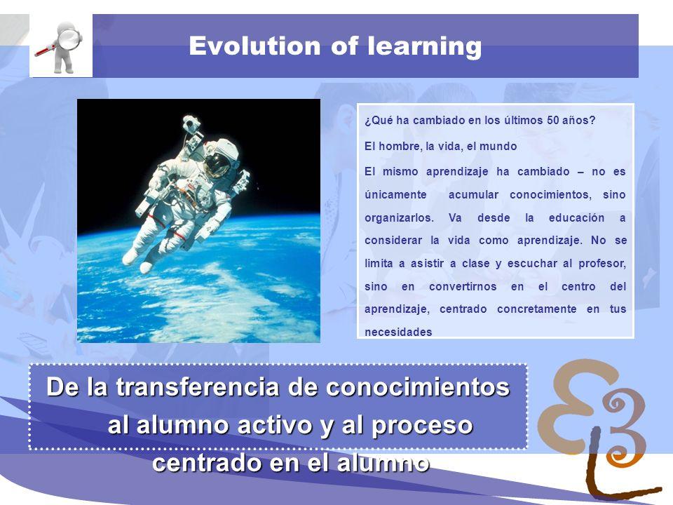 learning to learn network for low skilled senior learners Sociedad basada en el conocimiento La cantidad de información producida, únicamnete en 2008, es mayor que en los 500 años anteriores.