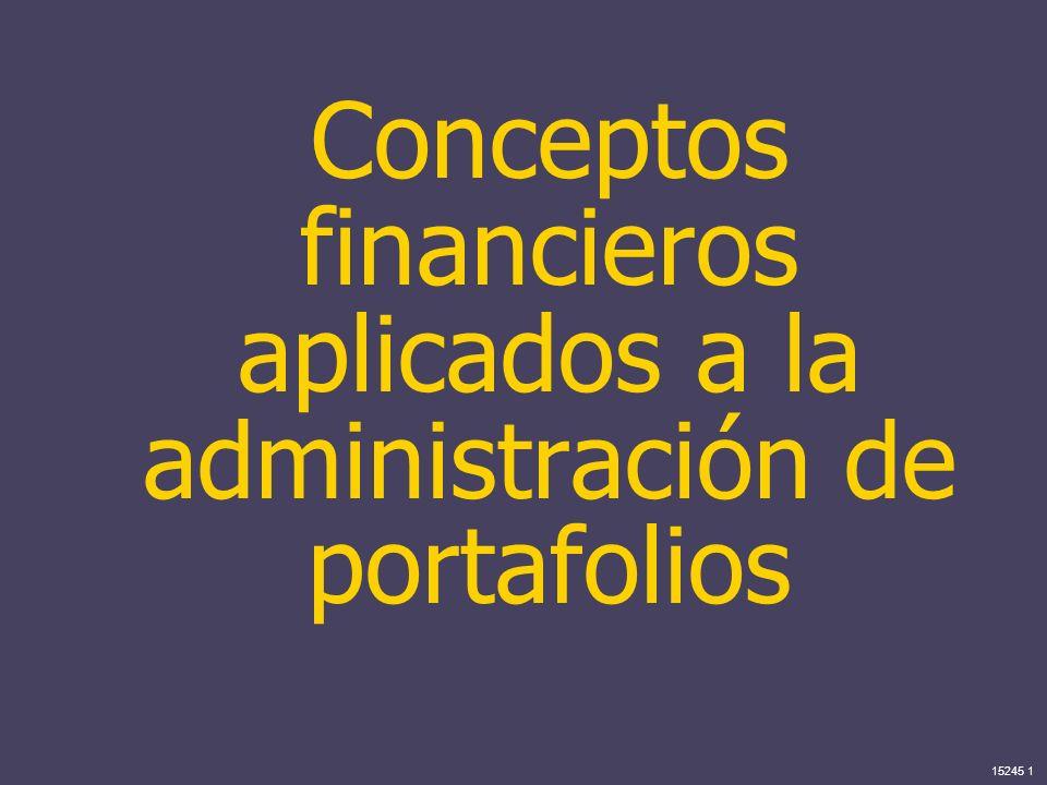 15245 1 Conceptos financieros aplicados a la administración de portafolios