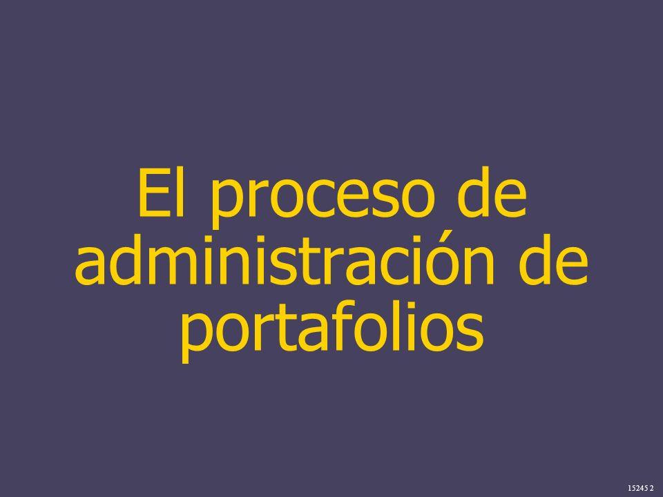 15245 2 El proceso de administración de portafolios