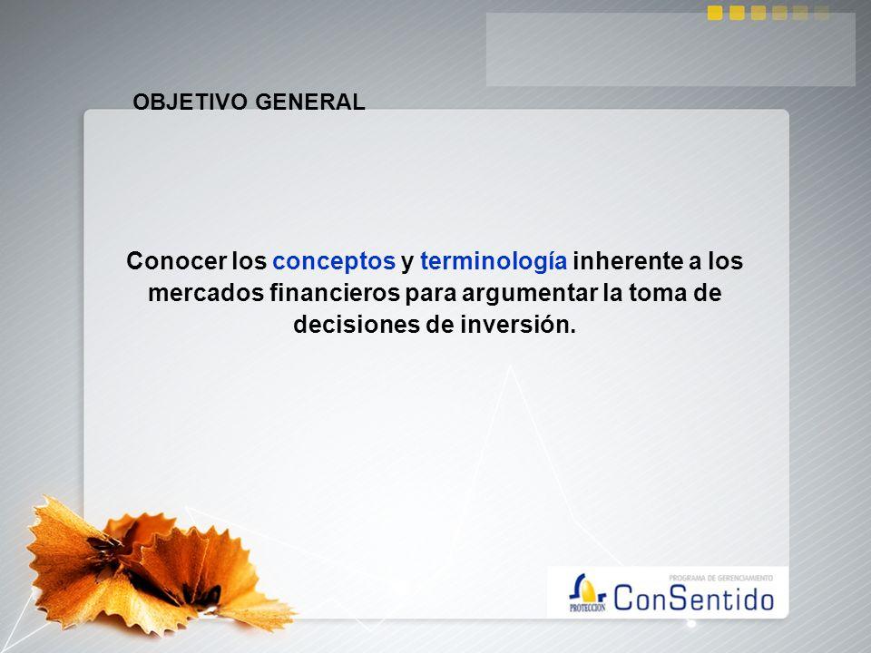 CONTENIDO El Sistema Financiero y el Mercado de capitalesEl Sistema Financiero y el Mercado de capitales Tasas de Interés.