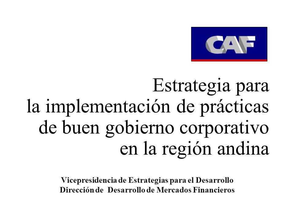 Estrategia Gobierno Corporativo Programas de Capacit.de Y divulgación Seminarios empresas pequeñas y medianas Organos Reguladores Medios de comunicación Consultorías Cursos Eventos con Cámaras de Comercio