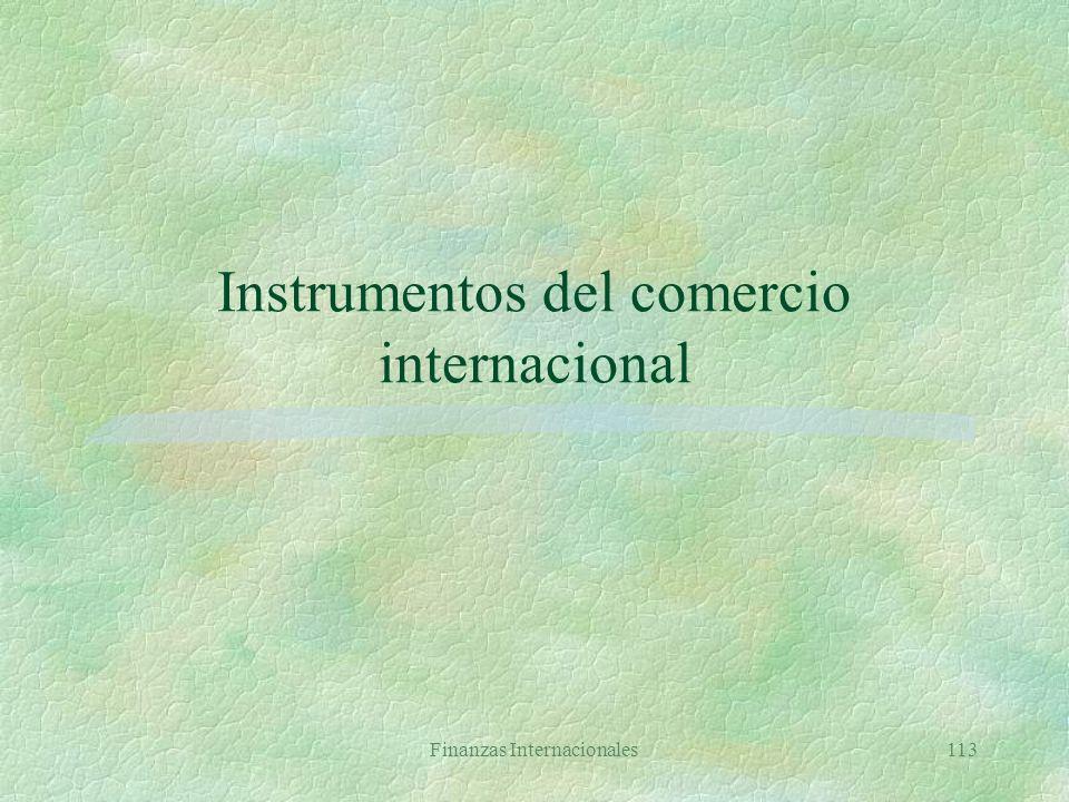 Finanzas Internacionales112 ADR: riesgos §Riesgo político §Riesgo cambiario §Riesgo inflación