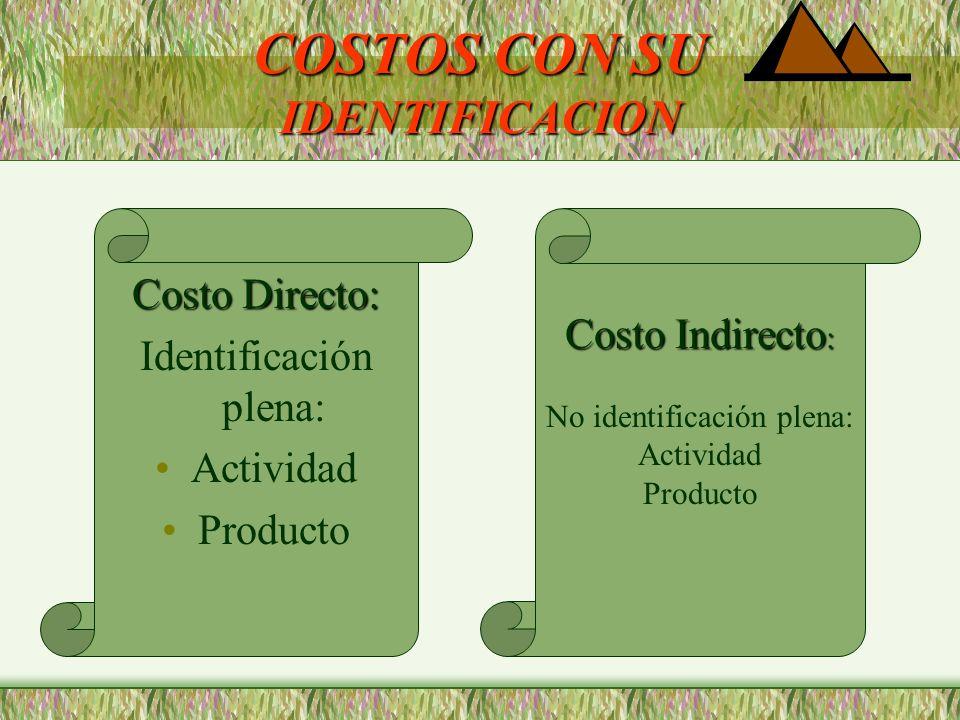 COSTOS DE ACUERDO A SU COMPORTAMIENTO Nivel De Actividad COSTOS VARIABLES: COSTOS FIJOS: Independiente Actividad