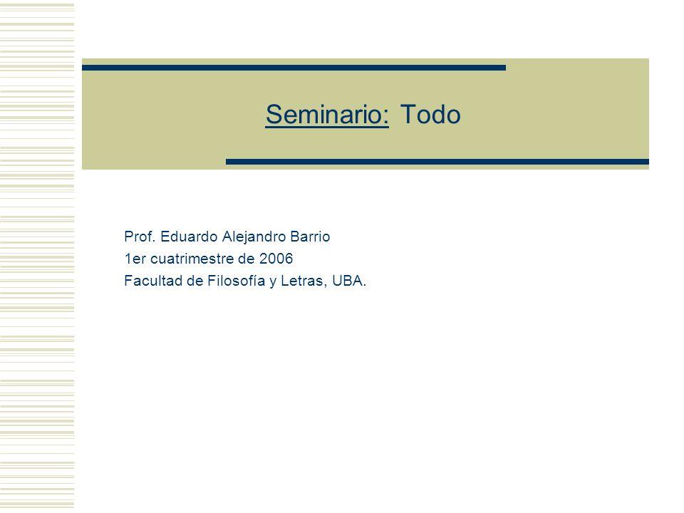 Seminario: Todo Prof.