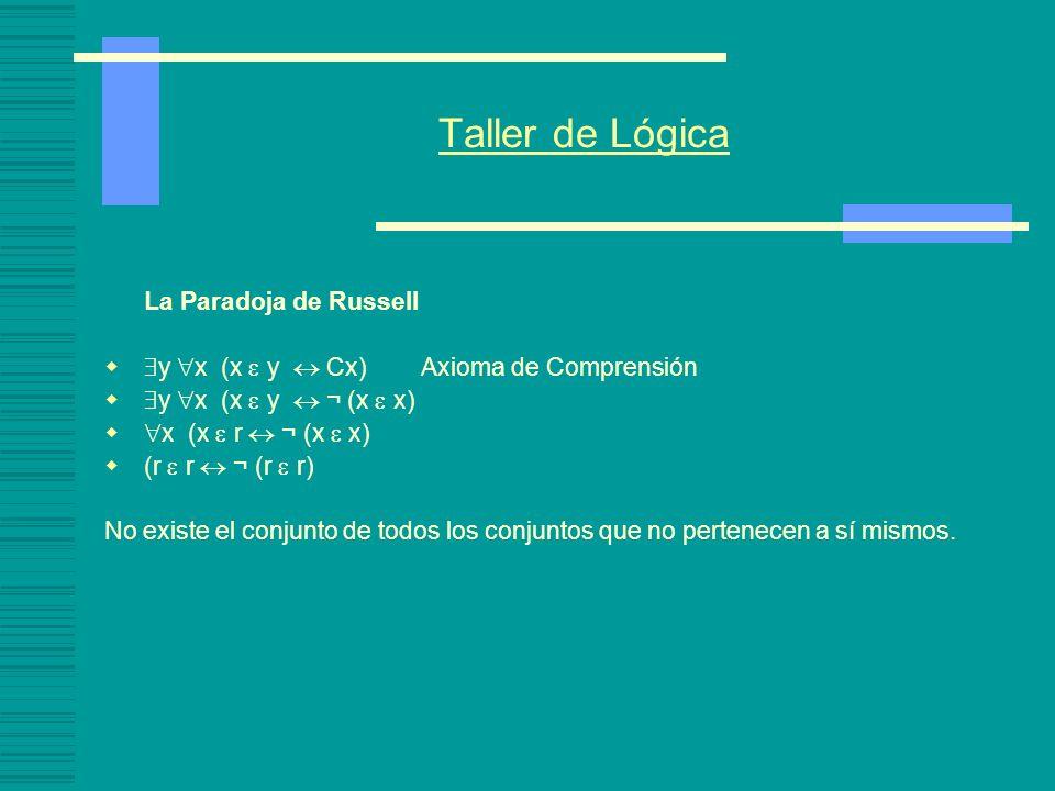 Los fundamentos de las matemáticas Fundamentación conjuntista de la matemática: Principios de Frege (formulados de manera intuitiva): 1.- Principio de