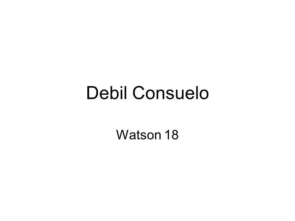 Debil Consuelo Watson 18
