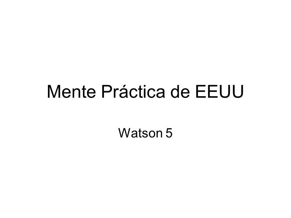 Mente Práctica de EEUU Watson 5