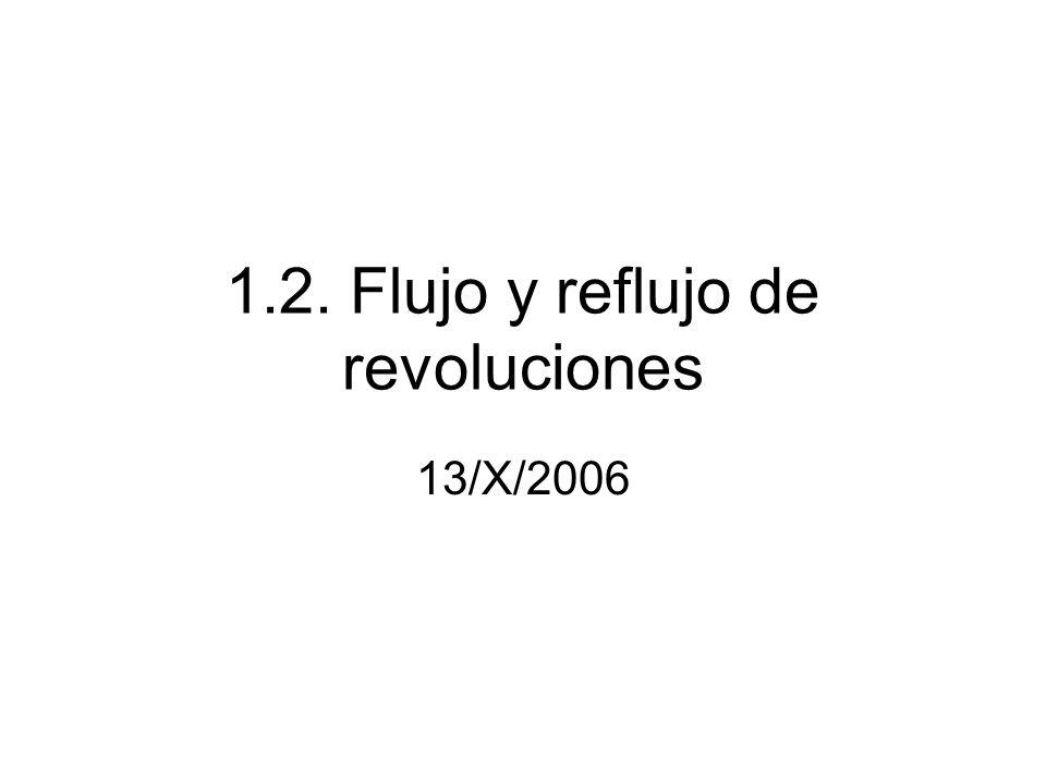 1.2. Flujo y reflujo de revoluciones 13/X/2006