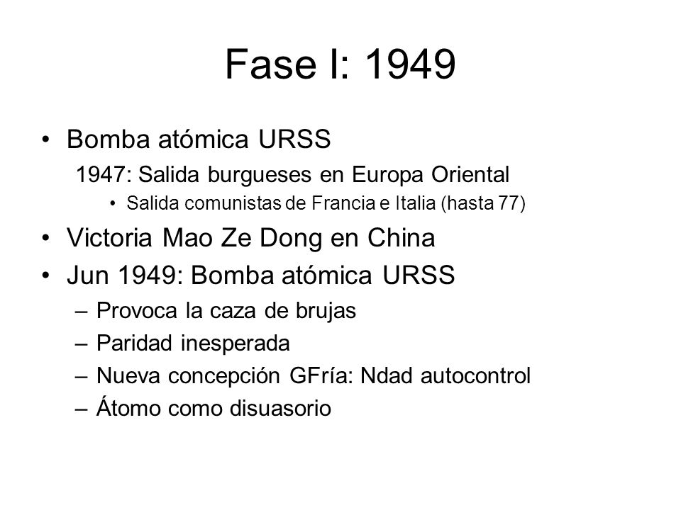 Avances soviéticos URSS: Reforzada –1973: desorden económico capitalista –Nomenklatura busca hegemonía militar 1977: misiles SS-20.