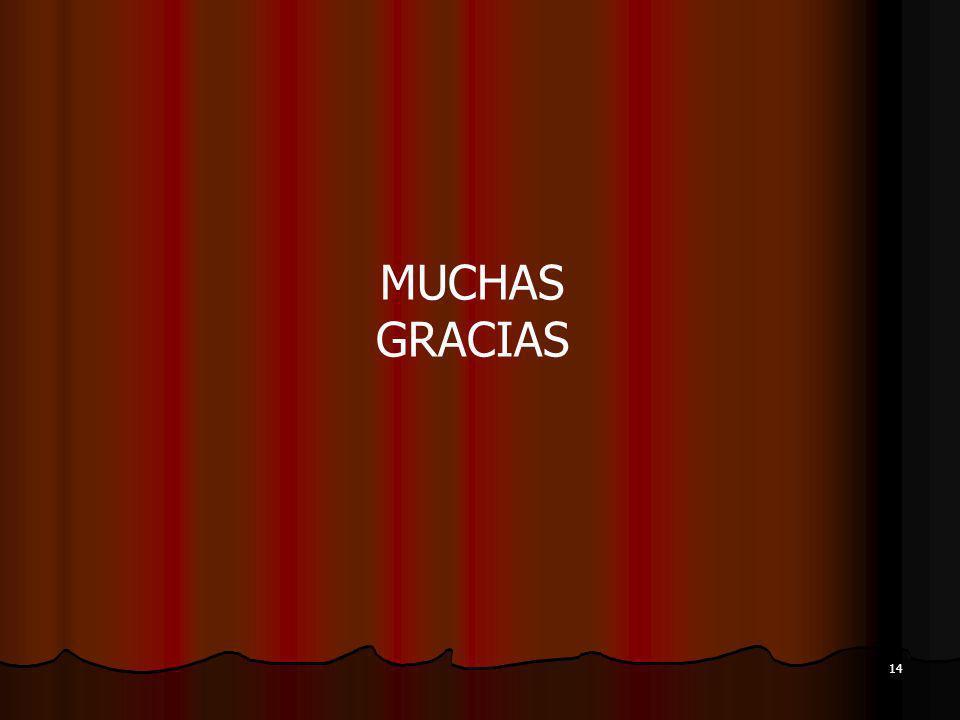MUCHAS GRACIAS 14