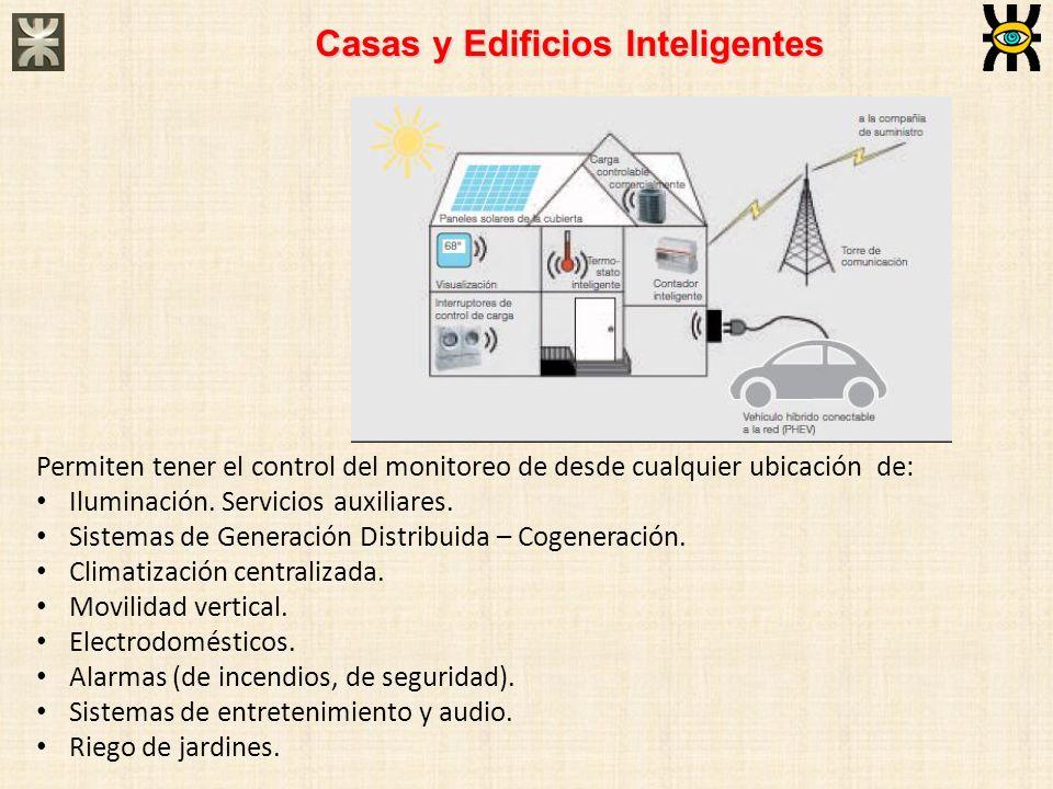 Permiten tener el control del monitoreo de desde cualquier ubicación de: Iluminación. Servicios auxiliares. Sistemas de Generación Distribuida – Cogen